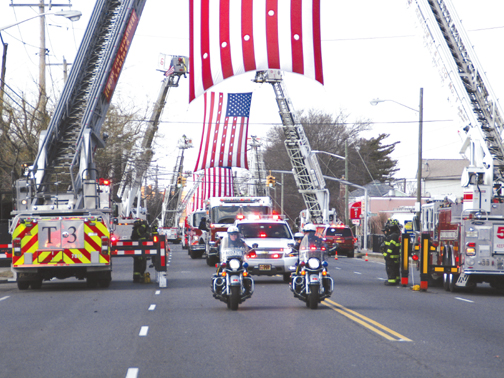 Tribute to FF Joseph Sanford, Jr.