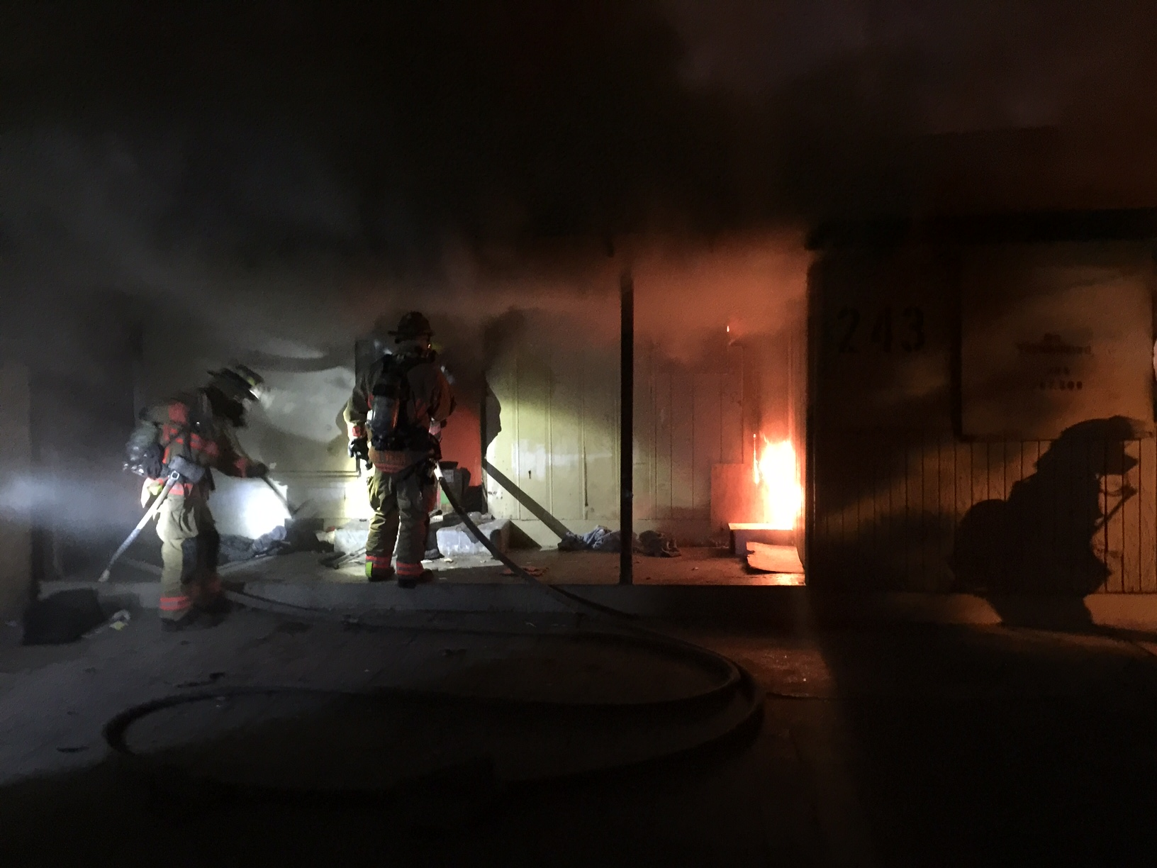 Las Vegas Apartment Fire