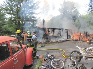 Poestenkill Home Destroyed