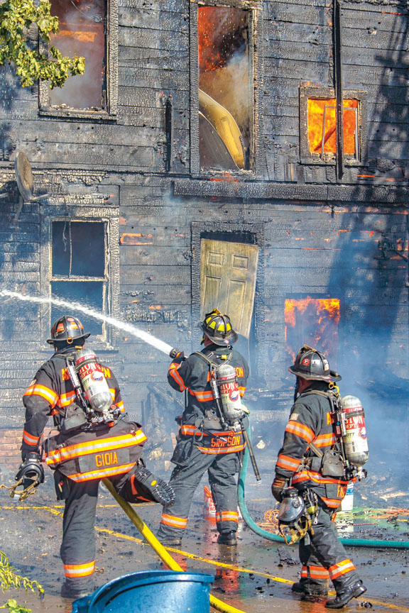 2 Burned at Poughkeepsie Fire