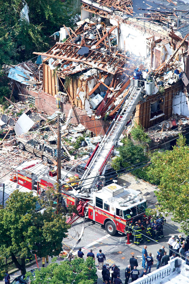 FDNY Chief Killed in Bronx Explosion