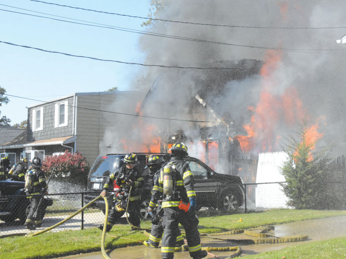 Copiague Fire Under Investigation