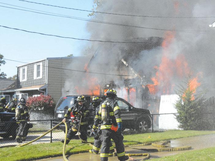 Copiague Fire Under Investigation