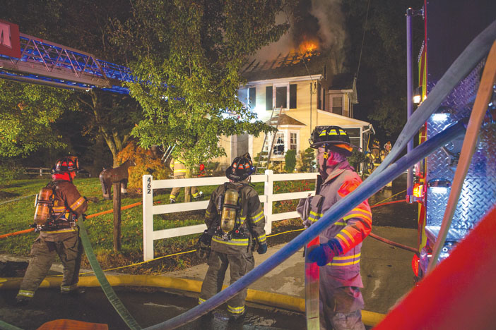 All-Hands House Fire in Evesham
