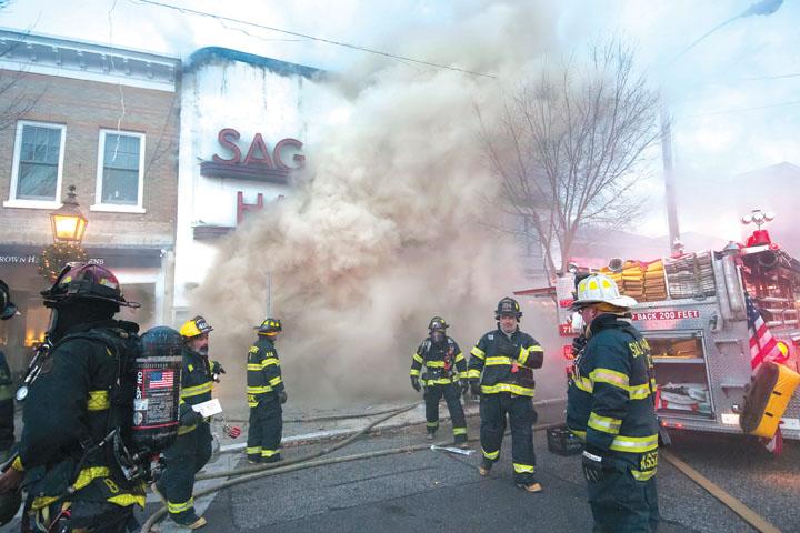 Sag Harbor Main Street Blaze
