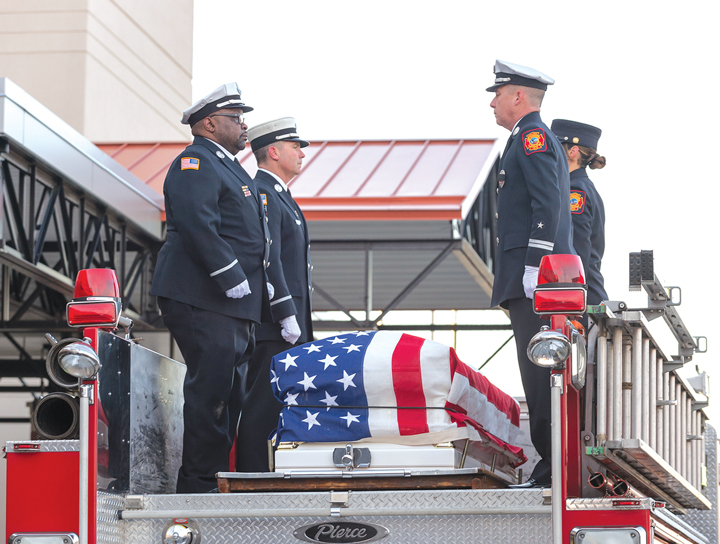 Delaware Remembers Senior Firefighter Ardythe Denise Hope