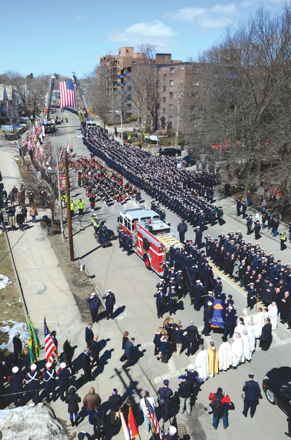 Watertown, Massachusetts Mourns Passing of Firefighter Joseph Toscano