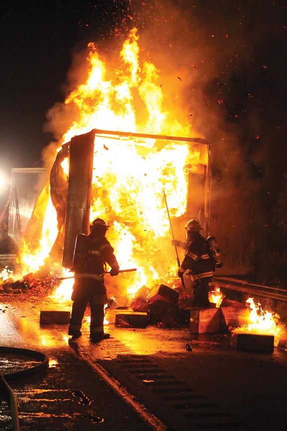 I-476 Truck Fire