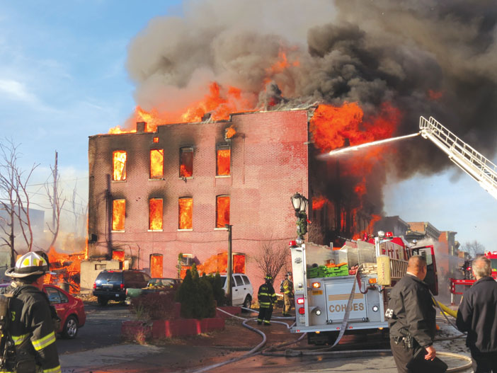 Cohoes Conflagration