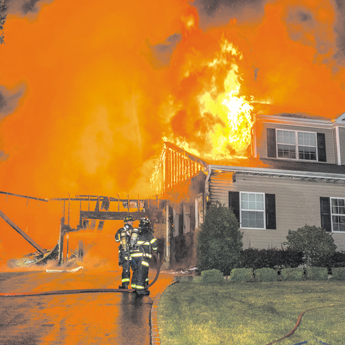 Center Moriches Battles 4th of July Blaze