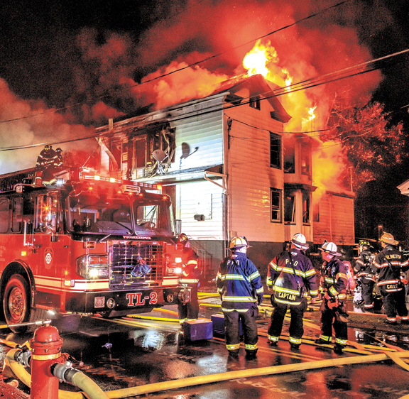 Poughkeepsie Battles 4 Fatality Fire