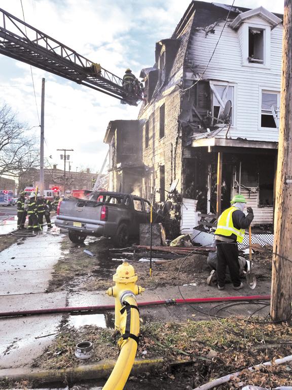 Millville MVA Ruptures Gas Line, Starts House Fire