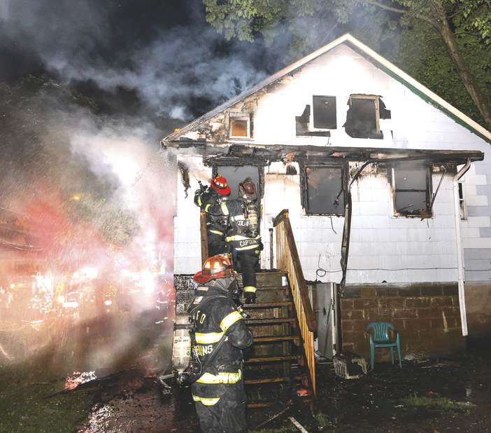 Spring Valley House Fire