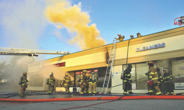 4 FF Rescued at Frankstown Road Gas-Fed Fire