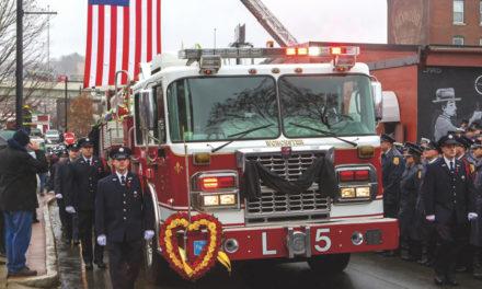 LODD: Worcester Fire Lieutenant Jason Menard