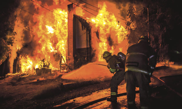 Kitchen Fire Takes House in Allegheny Twp.