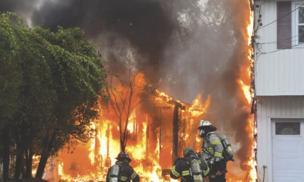 West Babylon Shed Fire Extends