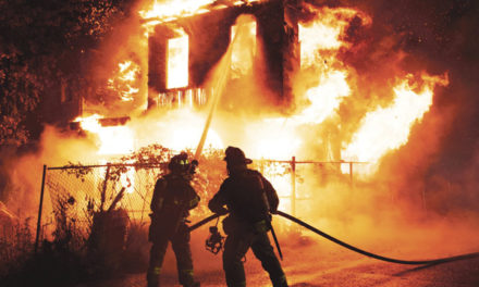 2-Alarm Wind-Whipped Fire Guts Home