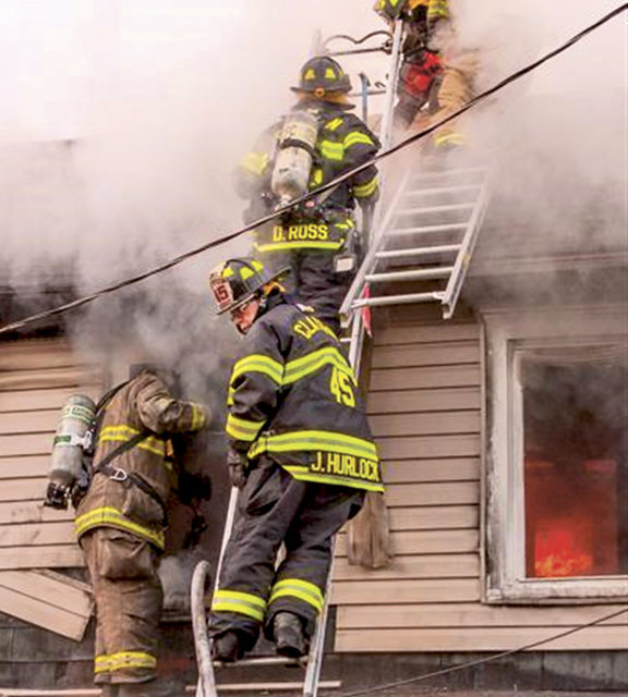 Multiple Companies Battle House Fire