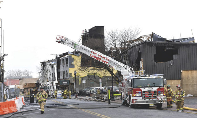 E. Farmingdale Commercial Building Razed