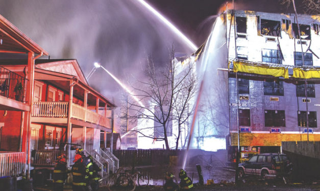 Fast Moving Fire in Bound Brook