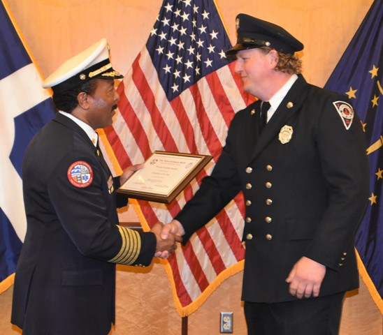 IFD Firefighters and Tele-communicator honored with Fire Police Deputy Sheriff Award