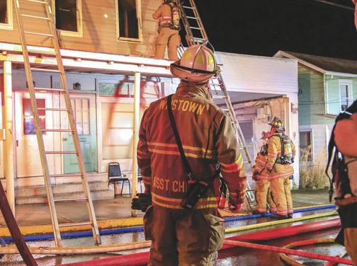 Apartment Fire in Williamston