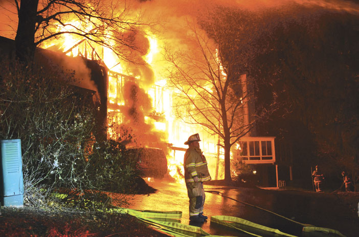 5 Homes Damaged, 1 Collapse in Derry Township Blaze