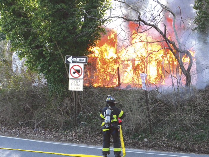 Northport Brush Fire Extends