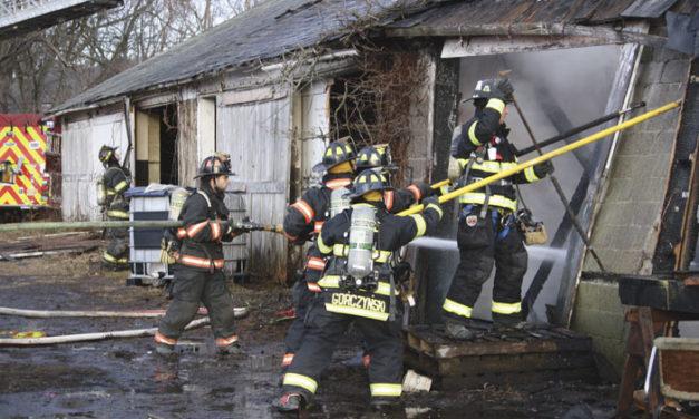 Allamuchy Barn Fire