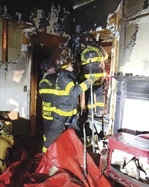 Washingtonville House Fire