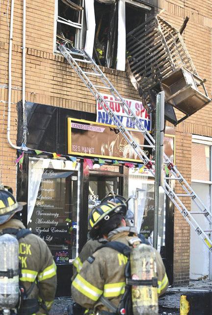 Child Injured at Freeport Fire