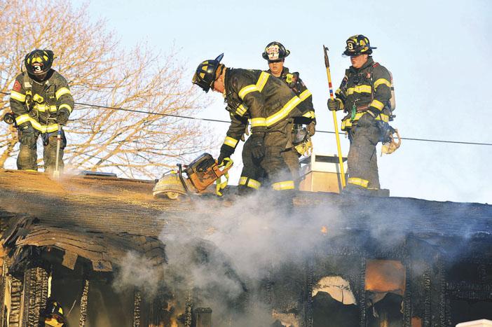 Heavy Fire On Arrival in Smithtown