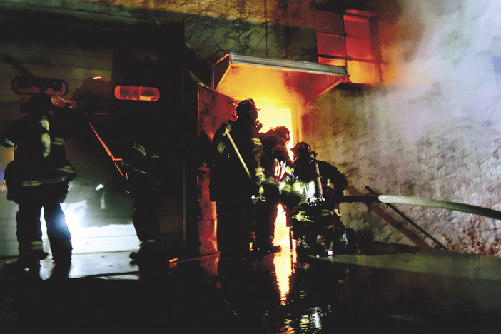 Hackensack Warehouse Fire