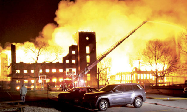 Pawtucket Multi-Alarm Mill Fire