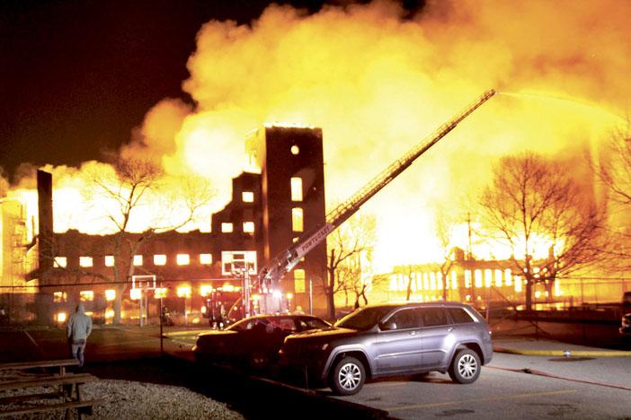 Pawtucket Multi-Alarm Mill Fire