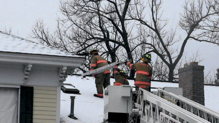 East Greenbush Trains in Vacant Home