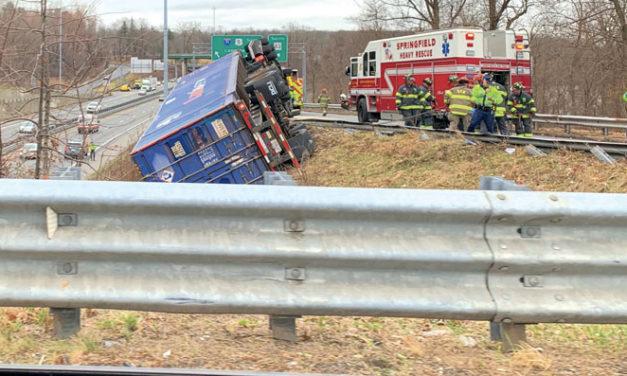 Springfield Truck Overturn