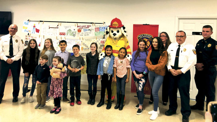 Brick 2019 Fire Prevention Poster Contest Award Ceremony