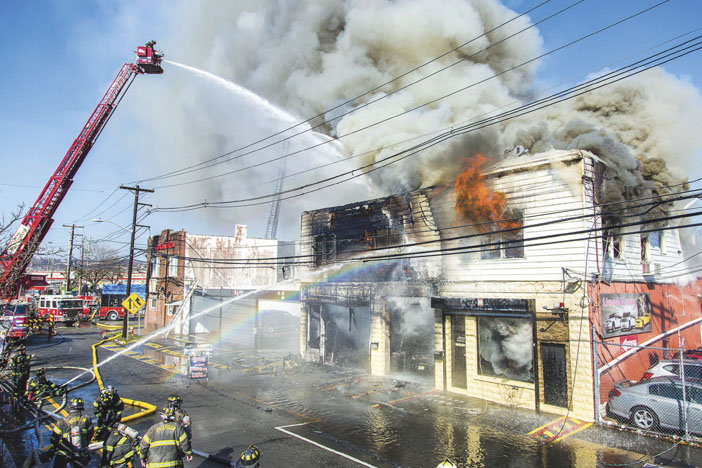 Paterson 5-Alarm Commercial Blaze