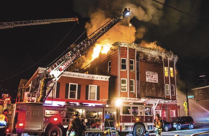 Waterbury Apartment Fire