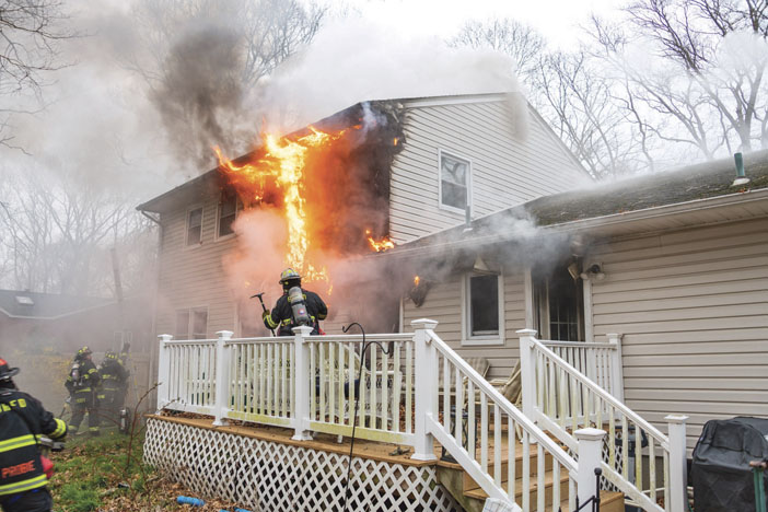 House Fire in Brookhaven