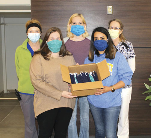 Syntex Industries Donates Masks
