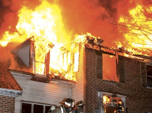 FF Injured at Mountaindale House Fire
