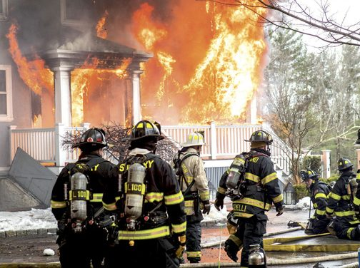 Historic Home in Concord a Total Loss