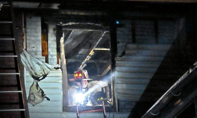 2-Alarm Row-Home Fire In Manheim Twp.