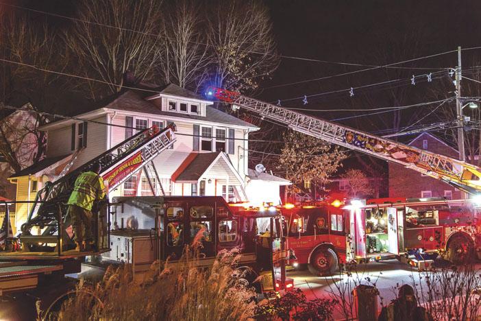 Bogota House Fire