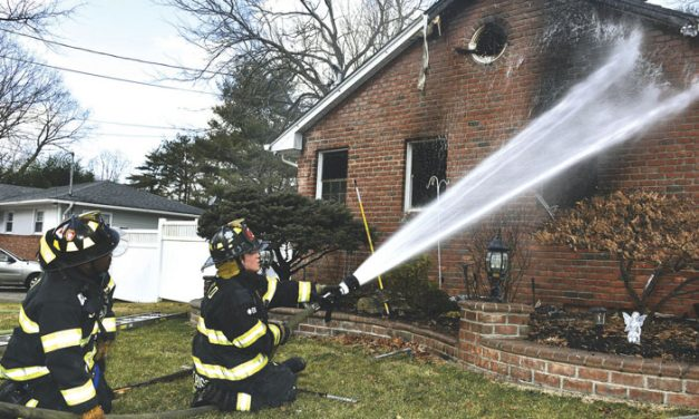 All Out at Brentwood House Fire