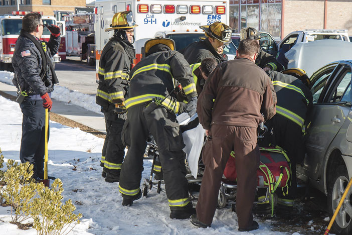 4-Car MVA in Worcester