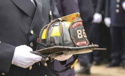 Firefighter Turk Aksoy Memorial Service